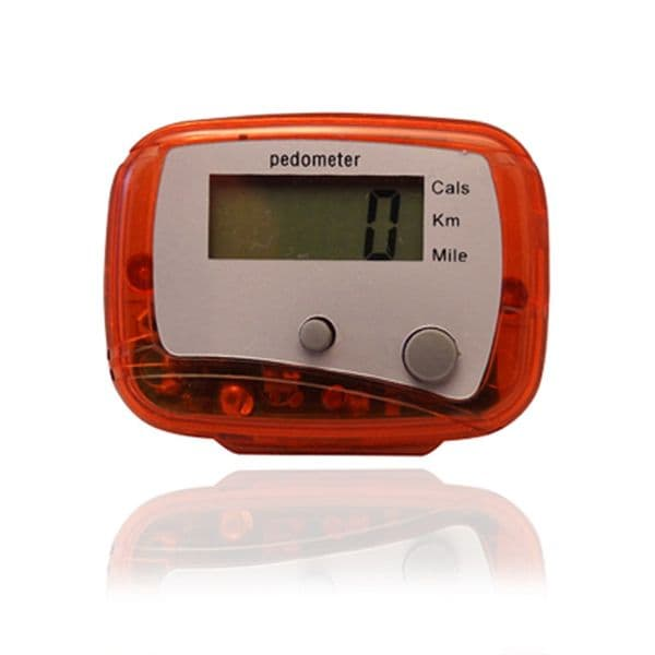 Multi-Function LCD Pedometer Walking Step Calorie Distance Counter